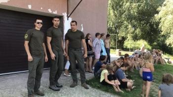 Київський рибоохоронний патруль відвідав соціально-психологічний центр у м. Богуслав