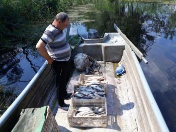 На Канівському водосховищі затримано промисловика, який завдав 86 тис. грн збитків, - рибоохоронний патруль Київщини