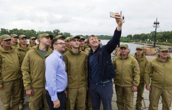 Голова Держрибагентства підвів підсумки перших двох місяців роботи першого в Україні рибоохоронного патруля