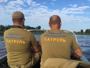 Київський рибоохоронний патруль здійснив першу гучну спецоперацію: викрито 600 кг незаконно добутої риби