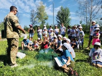 """В рамках програми """"Kidsafe"""" Київський рибоохоронний патруль продовжує відвідувати дитячі реабілітаційні центри"""
