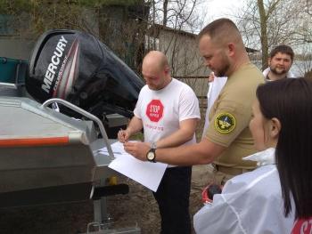 Київський рибоохоронний патруль підписав меморандум про співпрацю з ГО «Стоп корупції»