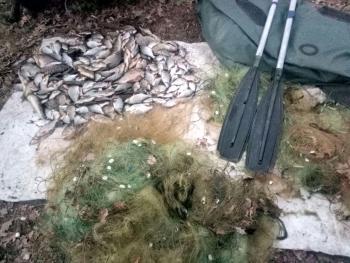 Рибоохоронний патруль Київщини протягом одного дня зафіксував збитків майже на 18 тис. грн