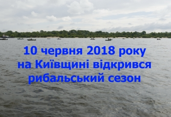 На Київщині відкрився рибальський сезон