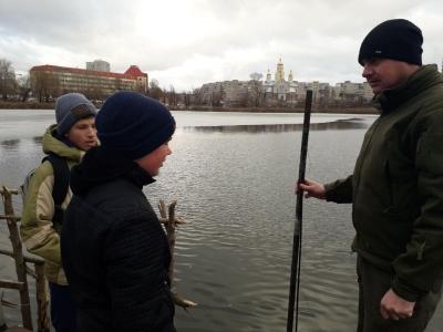 Діти звернулися по допомогу до рибоохоронного патруля Київщини