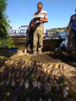На водосховищі, що у м. Ржищів виявлено правопорушення з кримінальними ознаками, - Київський рибоохоронний патруль