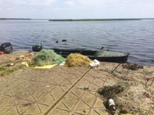 На гирлі р. Тетерів затримано порушників, які незаконно добули майже 200 кг риби, - Київський рибоохоронний патруль