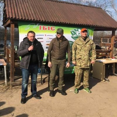 Київський рибоохоронний патруль був присутній на риболовному турнірі «Кубок пам'яті Героїв Небесної Сотні»