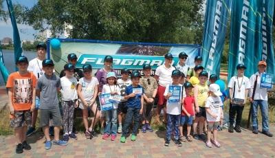 На Київщині пройшов риболовний фестиваль для дітей, - Київський рибоохоронний патруль