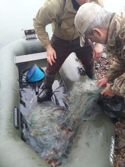 З початку листопада вилучено понад 600 кг незаконної риби, - Київський рибоохоронний патруль