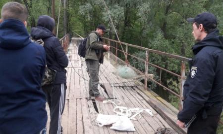 За десять днів виявлено 62 порушення та вилучено понад 300 кг незаконної риби, - Київський рибоохоронний патруль